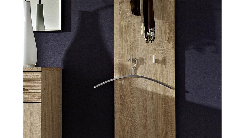 garderobenpaneel i point sonoma eiche hell. Black Bedroom Furniture Sets. Home Design Ideas