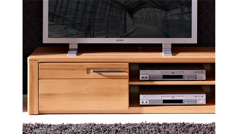 tv board lang nature plus kernbuche teilmassiv lackiert. Black Bedroom Furniture Sets. Home Design Ideas