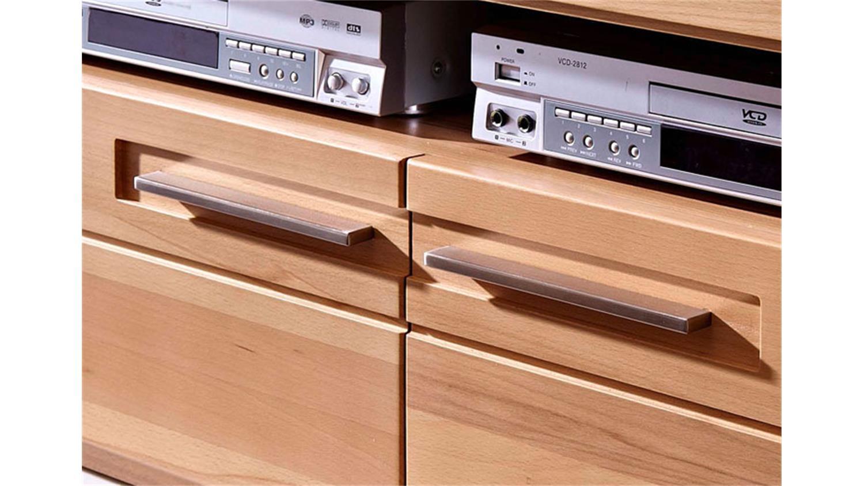tv board kurz nature plus kernbuche teilmassiv lackiert. Black Bedroom Furniture Sets. Home Design Ideas