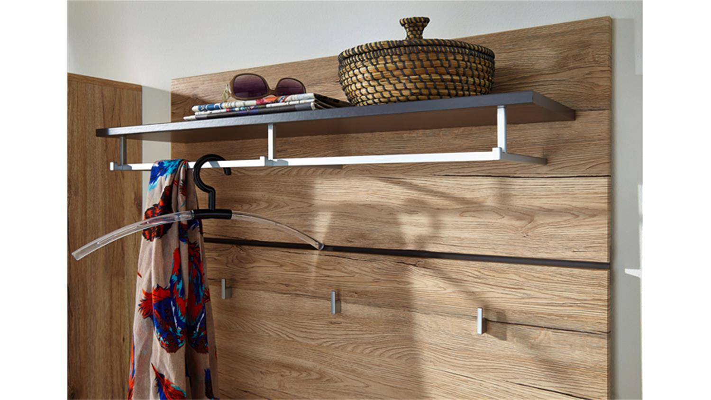 garderobe kombination fresh san remo eiche hell. Black Bedroom Furniture Sets. Home Design Ideas