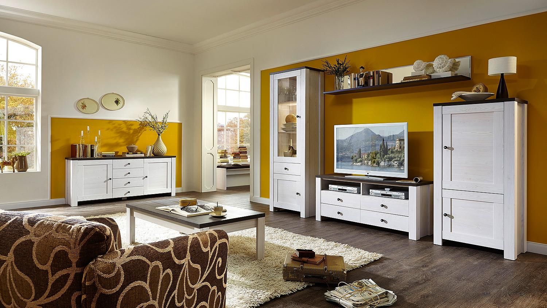 wandboard antwerpen mit spiegel in l rche und pinie dunkel. Black Bedroom Furniture Sets. Home Design Ideas