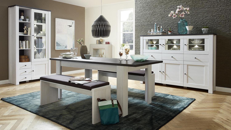 bank antwerpen sitzbank l rche mit klemmpolster in braun. Black Bedroom Furniture Sets. Home Design Ideas