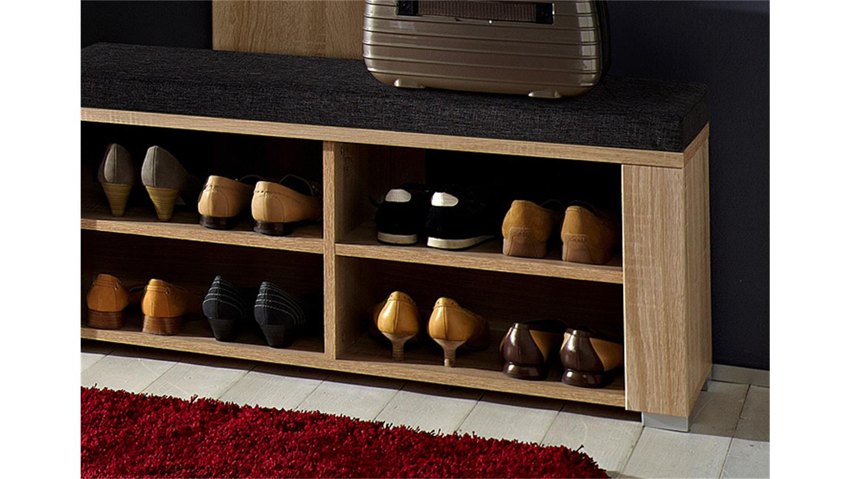 schubank point sonoma eiche hell inkl sitzkissen. Black Bedroom Furniture Sets. Home Design Ideas
