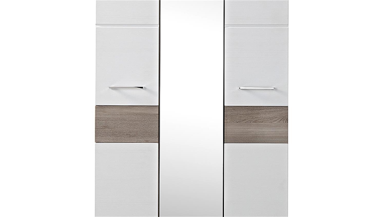 garderobenschrank funny wei silbereiche spiegel. Black Bedroom Furniture Sets. Home Design Ideas
