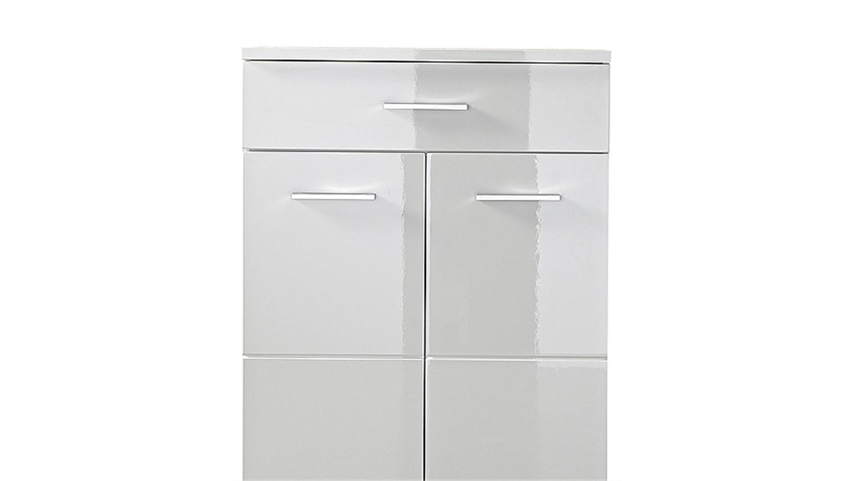 schuhschrank 2 spot garderobe schrank in wei hochglanz. Black Bedroom Furniture Sets. Home Design Ideas