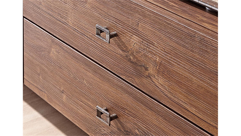 tv board br ssel tv unterteil lowboard in akazie dunkel. Black Bedroom Furniture Sets. Home Design Ideas
