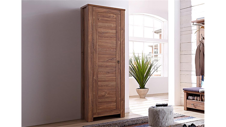 garderobenschrank br ssel garderobe schrank akazie dunkel. Black Bedroom Furniture Sets. Home Design Ideas