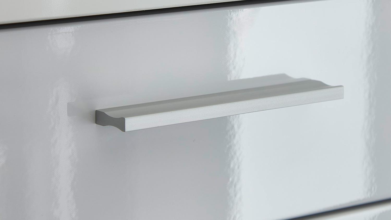 tv board clou lowboard fernsehschrank in wei hochglanz. Black Bedroom Furniture Sets. Home Design Ideas