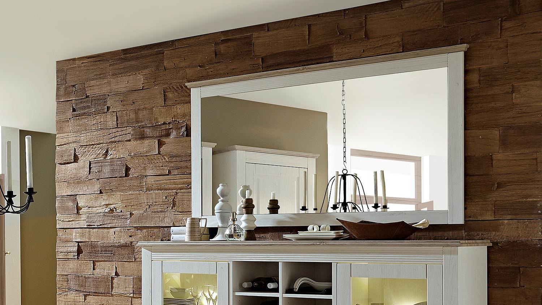 spiegel lima wandspiegel dekospiegel in pinie hell taupe 160. Black Bedroom Furniture Sets. Home Design Ideas