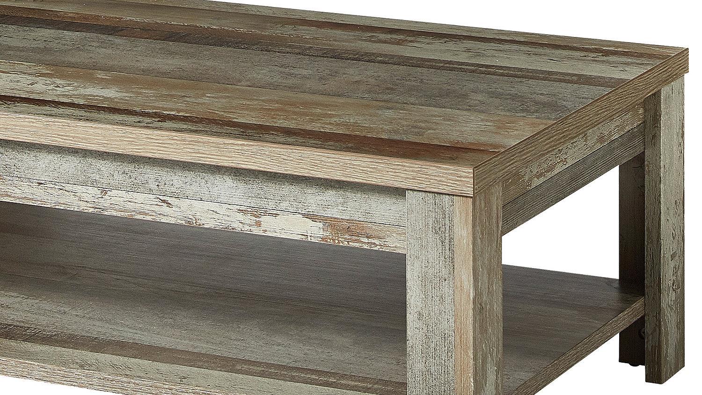 couchtisch bonanza tisch in driftwood 130x65 cm. Black Bedroom Furniture Sets. Home Design Ideas