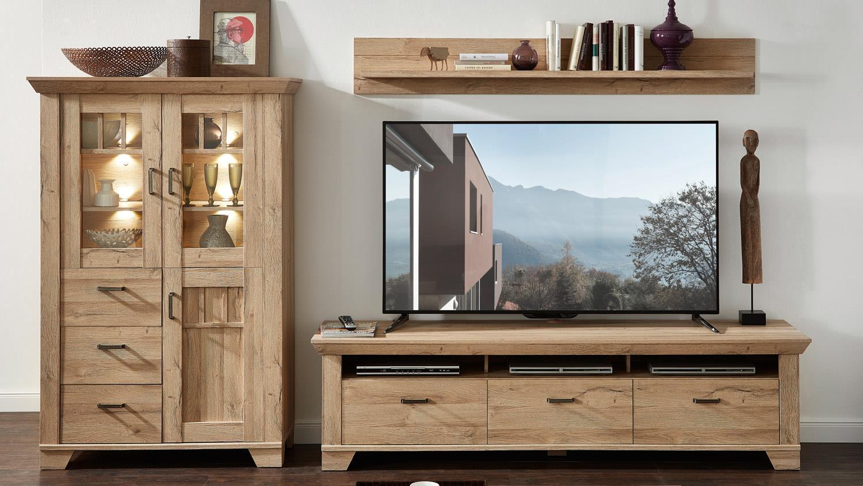 Nauhuri com rattan balkon takimlari neuesten design - Wohnwand Holzoptik Wohnwand Bristol Anbauwand In Gran Oak Hell Inklusive Led R