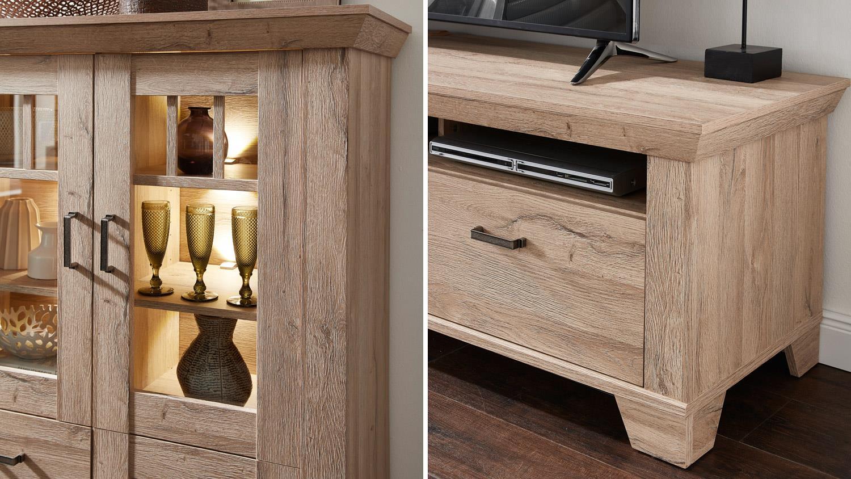 Wohnwand holzoptik  Wohnwand Holzoptik ~ Alles Bild für Ihr Haus Design Ideen