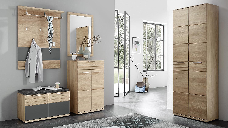 garderobenpaneel achat garderobe paneel in wildeiche bianco teilmassiv. Black Bedroom Furniture Sets. Home Design Ideas