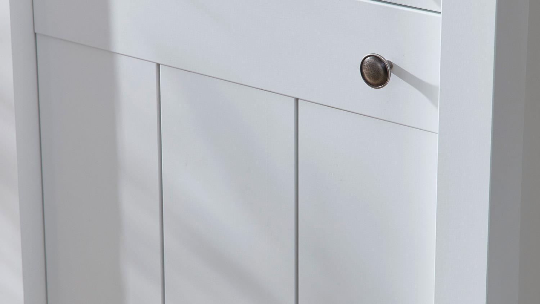 Kommode siena anrichte sideboard schrank in wei supermatt for Kommode 90 cm