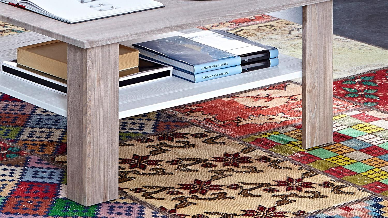 couchtisch landhaus malibu wohnzimmertisch silbereiche. Black Bedroom Furniture Sets. Home Design Ideas