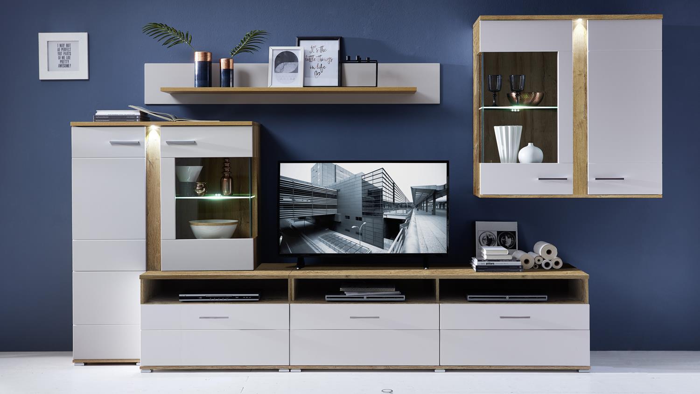 wohnwand eiche hell latest designer esszimmer eiche hell kaufen billig esszimmer eiche hell. Black Bedroom Furniture Sets. Home Design Ideas
