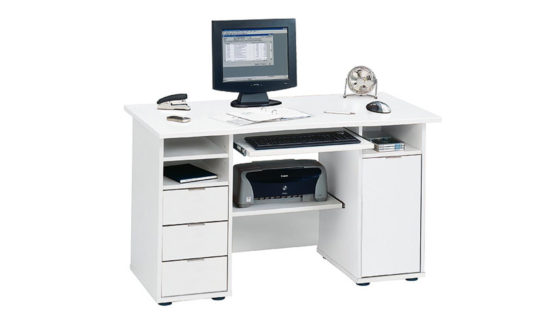 CSL 220 Computertisch Bürotisch in weiß JAHNKE