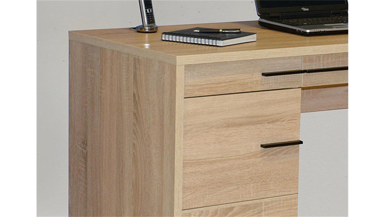 schreibtisch cl 120 sonoma eiche s gerau jahnke. Black Bedroom Furniture Sets. Home Design Ideas