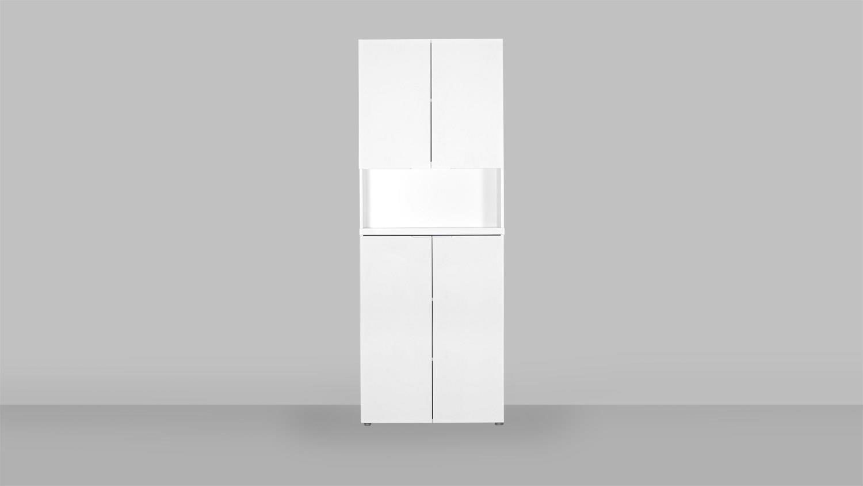Büroschrank weiß  CSL Büroschrank Schrank Büromöbel in weiß matt von JAHNKE
