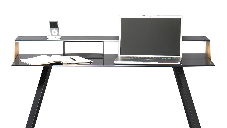 schreibtisch smart work computertisch laptoptisch schwarz. Black Bedroom Furniture Sets. Home Design Ideas