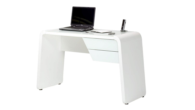 laptoptisch schreibtisch in weiss matt von jahnke. Black Bedroom Furniture Sets. Home Design Ideas