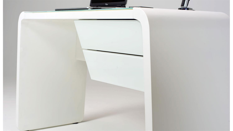 Schreibtisch CSL 430 Laptoptisch in weiss matt von Jahnke ✓