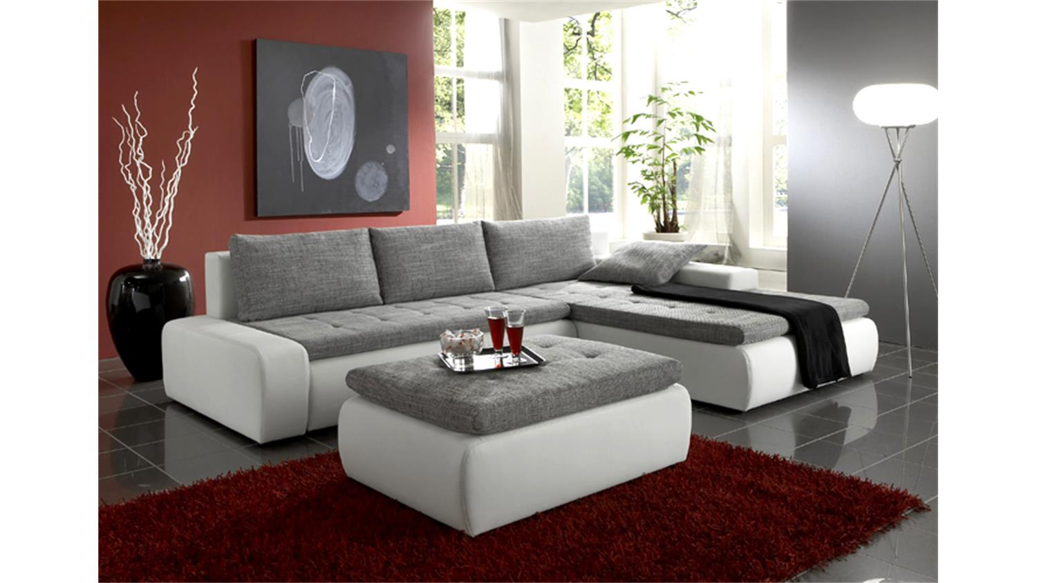 ecksofa mit lattenrost und matratze awesome kaufunique vizir sitzer mit matratze braun with. Black Bedroom Furniture Sets. Home Design Ideas