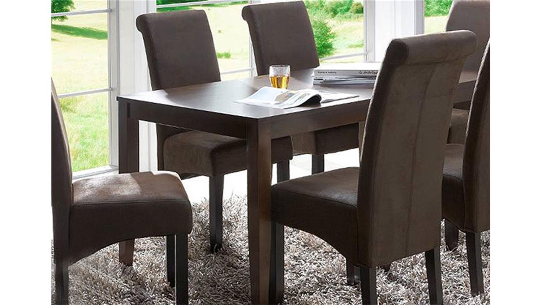 4er set stuhl peo polsterstuhl antik braun for Polsterstuhl braun stoff