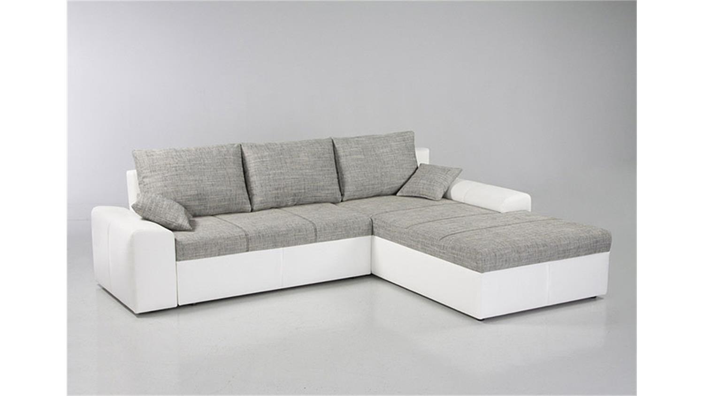 ecksofa kayne mit bettfunktion schwarz grau. Black Bedroom Furniture Sets. Home Design Ideas