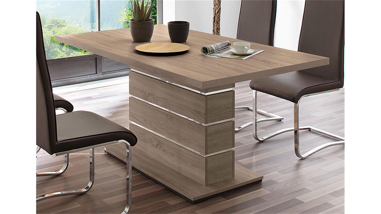 esstisch ronaldo sonoma eiche dekor 160x90 cm. Black Bedroom Furniture Sets. Home Design Ideas