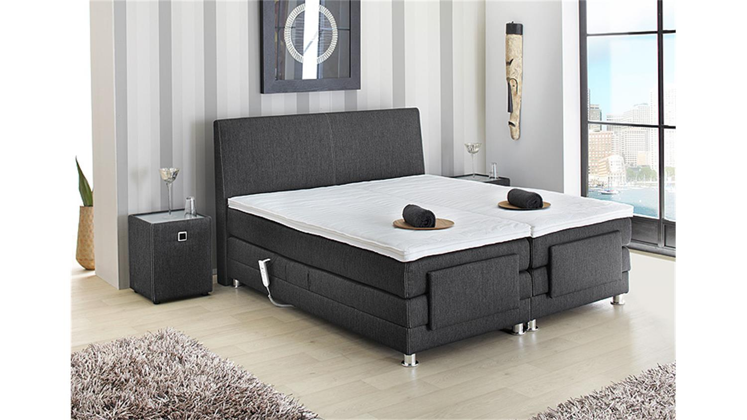 boxspringbett mit topper boxspringbett blizz mit visco topper m bel schuster ihr. Black Bedroom Furniture Sets. Home Design Ideas