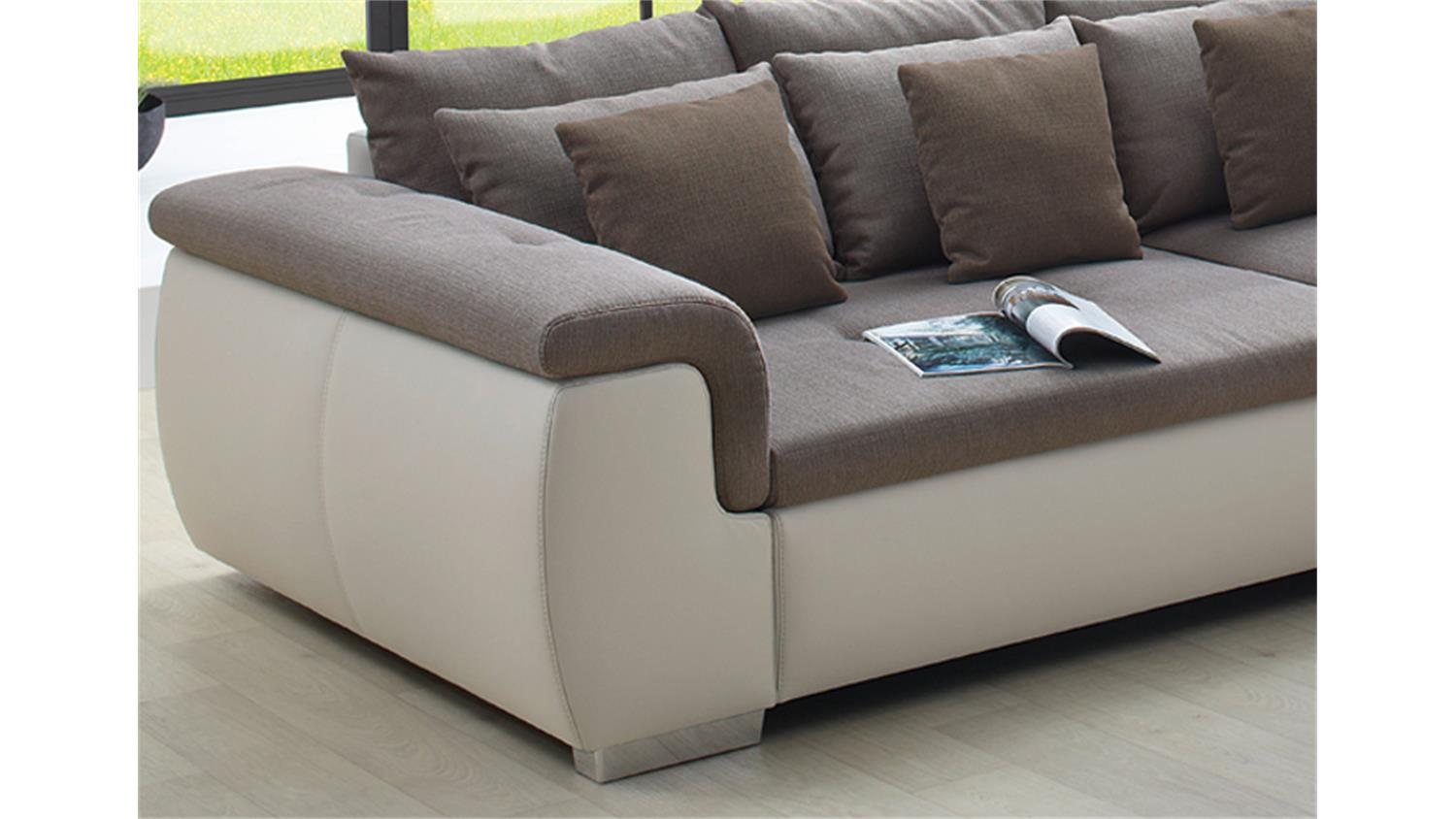 Big Sofa Gnstig Latest Billig Tolle Bigsofa Susi Cm Wollstoff Grau Big Sofa Oder With Big Sofa