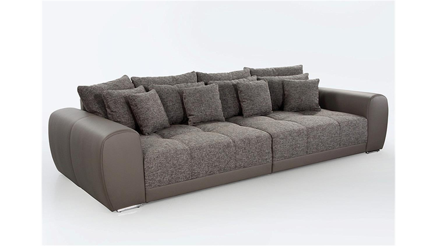 big sofa sam polsterm bel xxl sofa in elefant schlamm 310. Black Bedroom Furniture Sets. Home Design Ideas