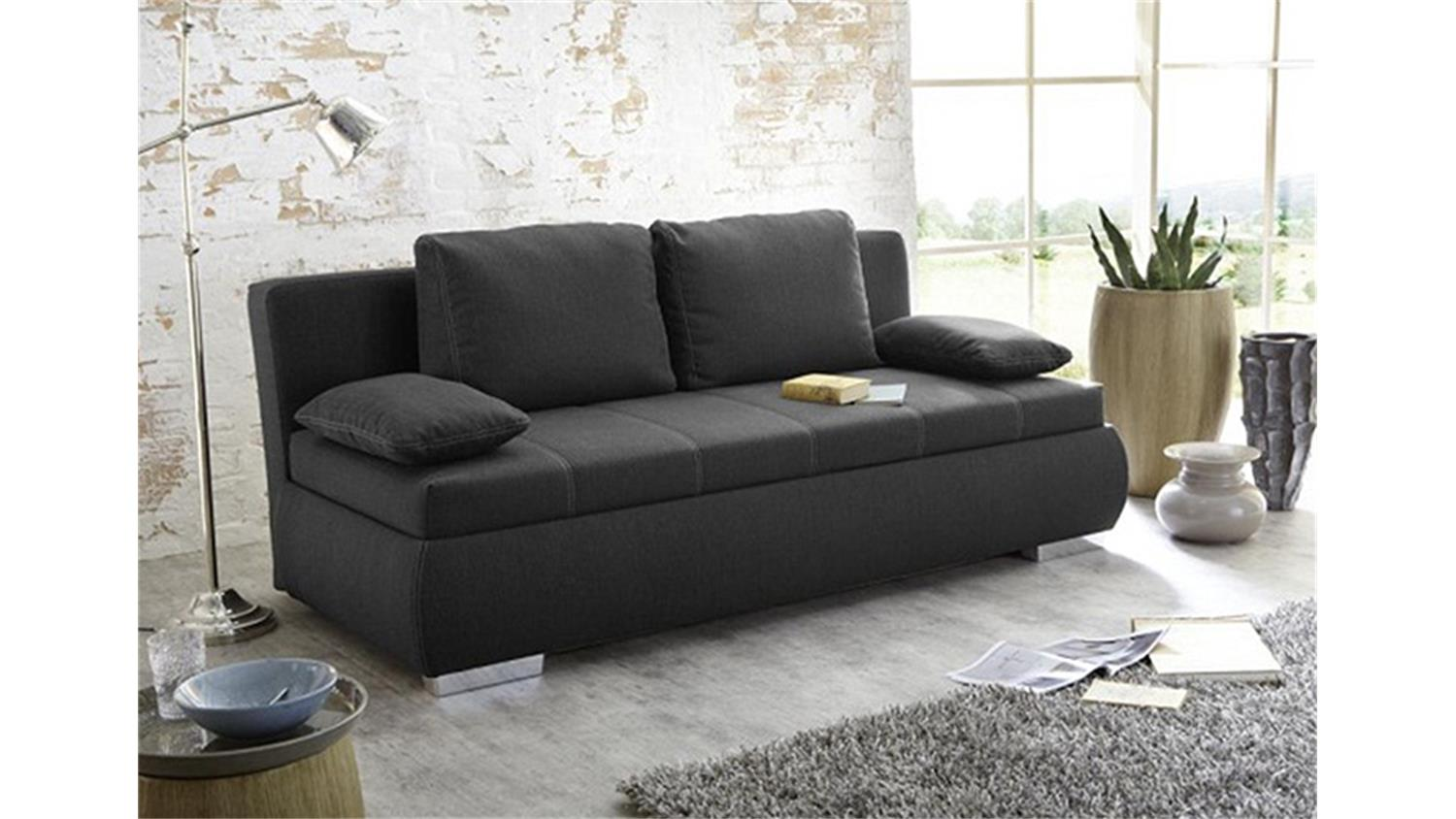 boxspring schlafsofa m belideen. Black Bedroom Furniture Sets. Home Design Ideas