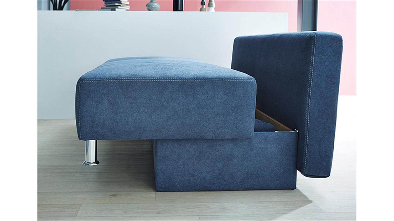 Schlafsofa Blau kairo schlafsofa in blau produktvideo