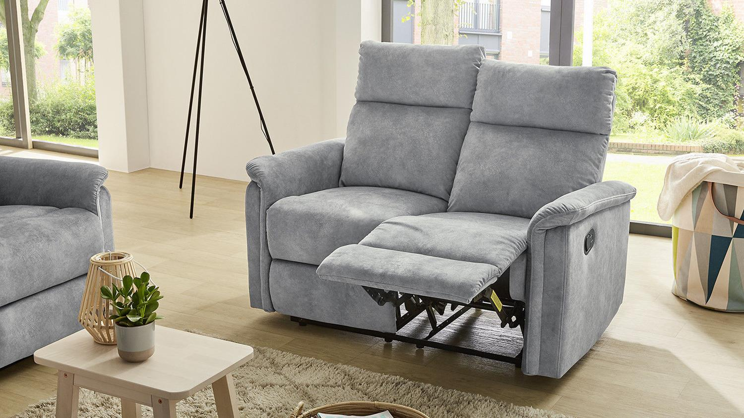 Sofa Amrum Sessel Relaxsessel 2 Sitzer mit Funktion