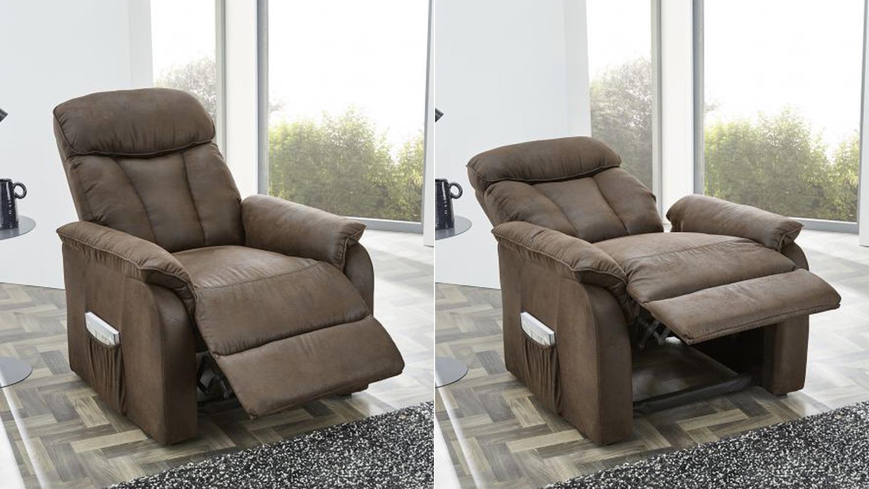 Fernsehsessel Dorsten Sessel Sofa Polstermobel Funktion Antik Braun
