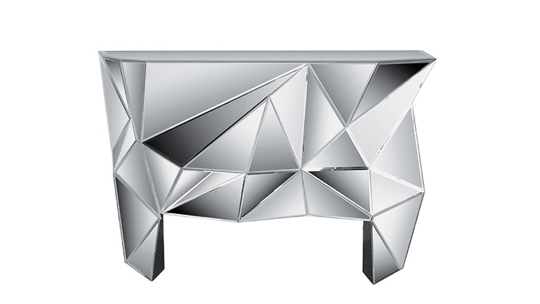 kommode prisma komplett verspiegelt kare design. Black Bedroom Furniture Sets. Home Design Ideas