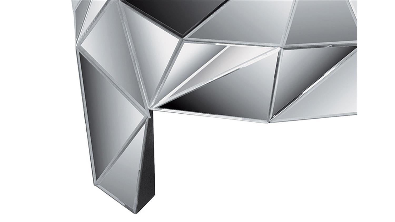 Kommode prisma komplett verspiegelt kare design for Kommode verspiegelt