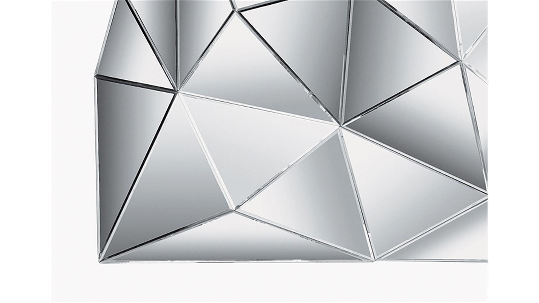 kommode mit spiegel prisma komplett verspiegelt kare design. Black Bedroom Furniture Sets. Home Design Ideas