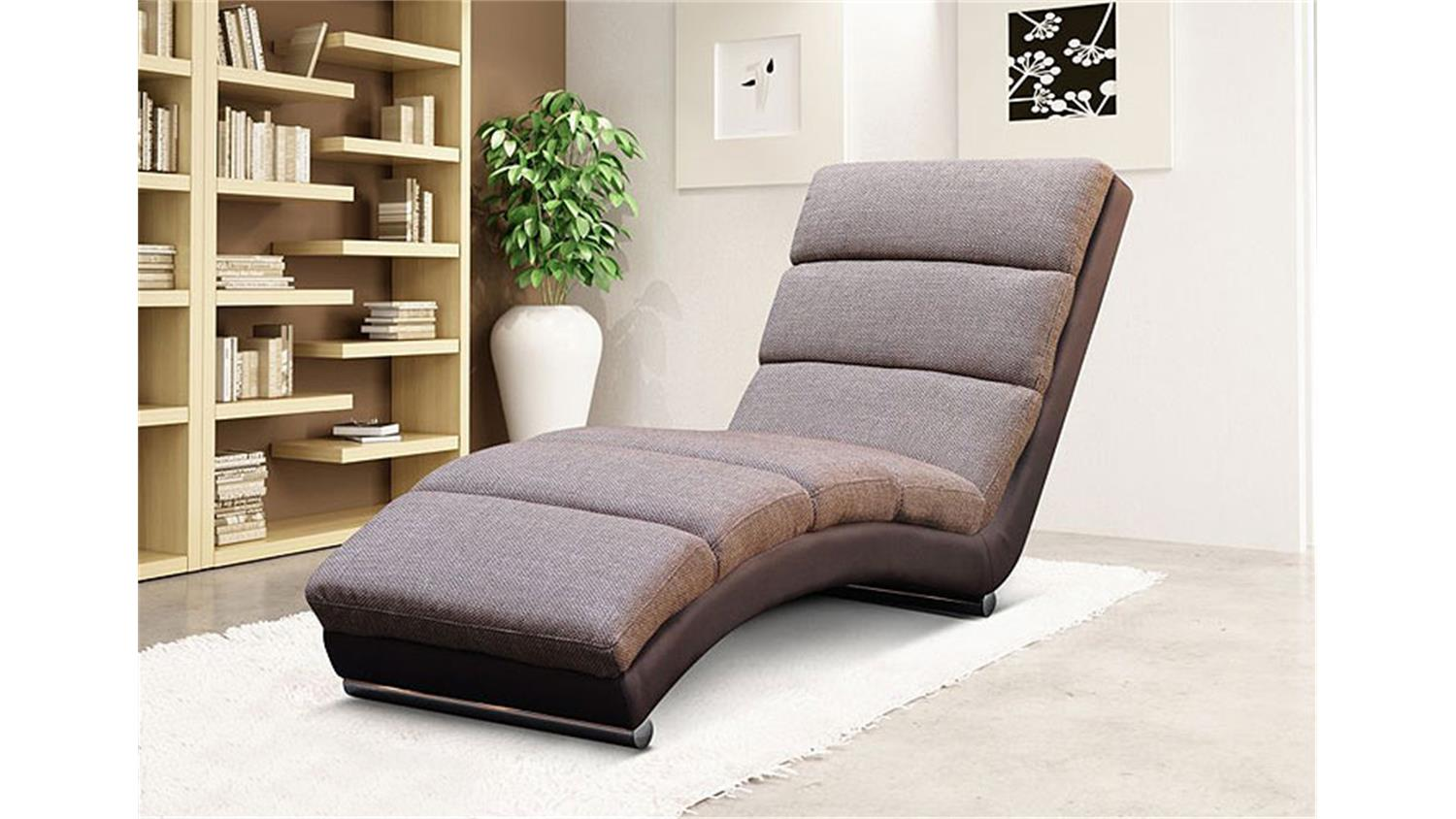 relaxliege holiday liege chaiselongue in braun. Black Bedroom Furniture Sets. Home Design Ideas