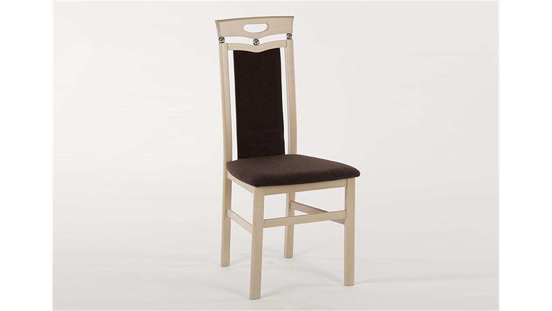 stuhl lupus 6er set sonoma eiche s gerau massiv braun. Black Bedroom Furniture Sets. Home Design Ideas