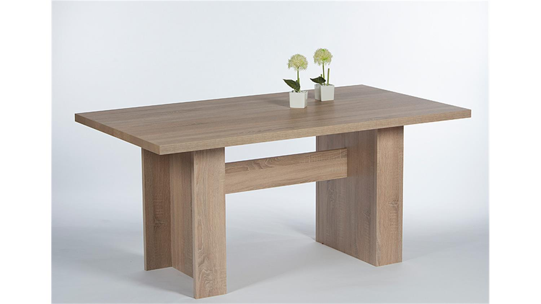 tischsystem max sonoma eiche s gerau 120x80 cm. Black Bedroom Furniture Sets. Home Design Ideas