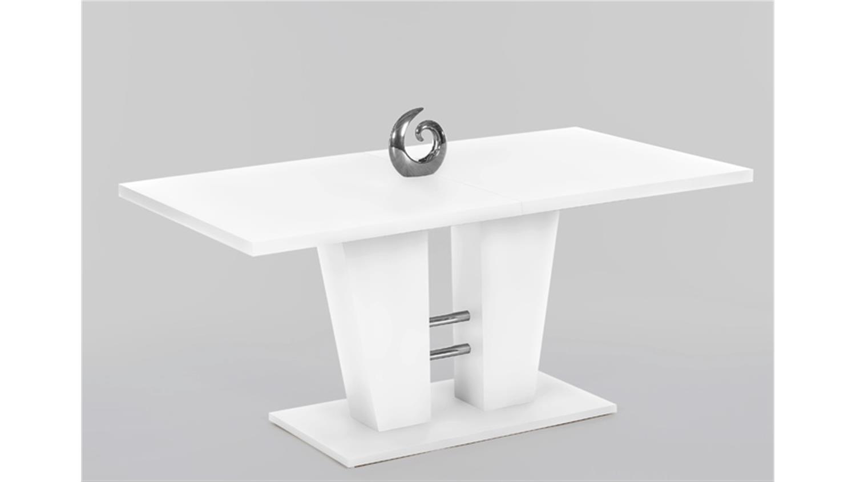 esstisch mirco tisch esszimmertisch wei ausziehbar 160 200. Black Bedroom Furniture Sets. Home Design Ideas