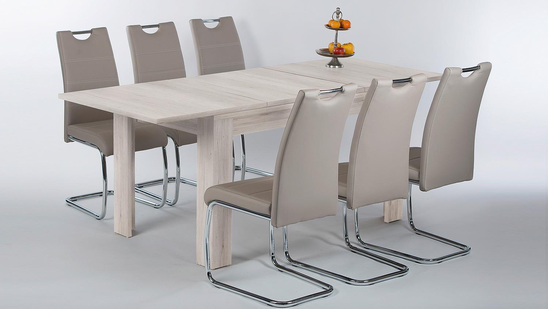 esstisch sandeiche bestseller shop f r m bel und. Black Bedroom Furniture Sets. Home Design Ideas
