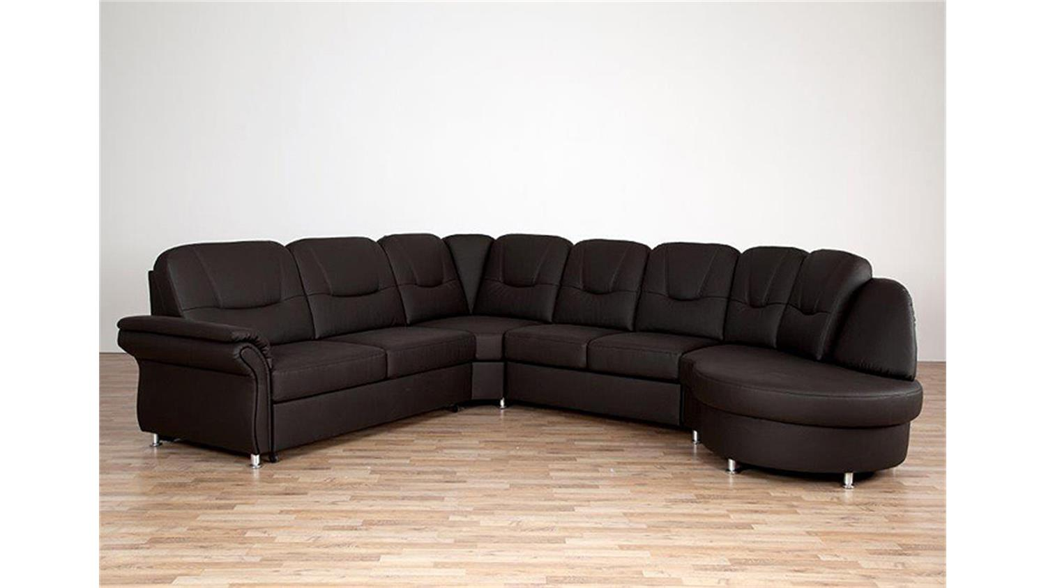 wohnlandschaft olaf ecksofa braun bettfunktion bettkasten. Black Bedroom Furniture Sets. Home Design Ideas