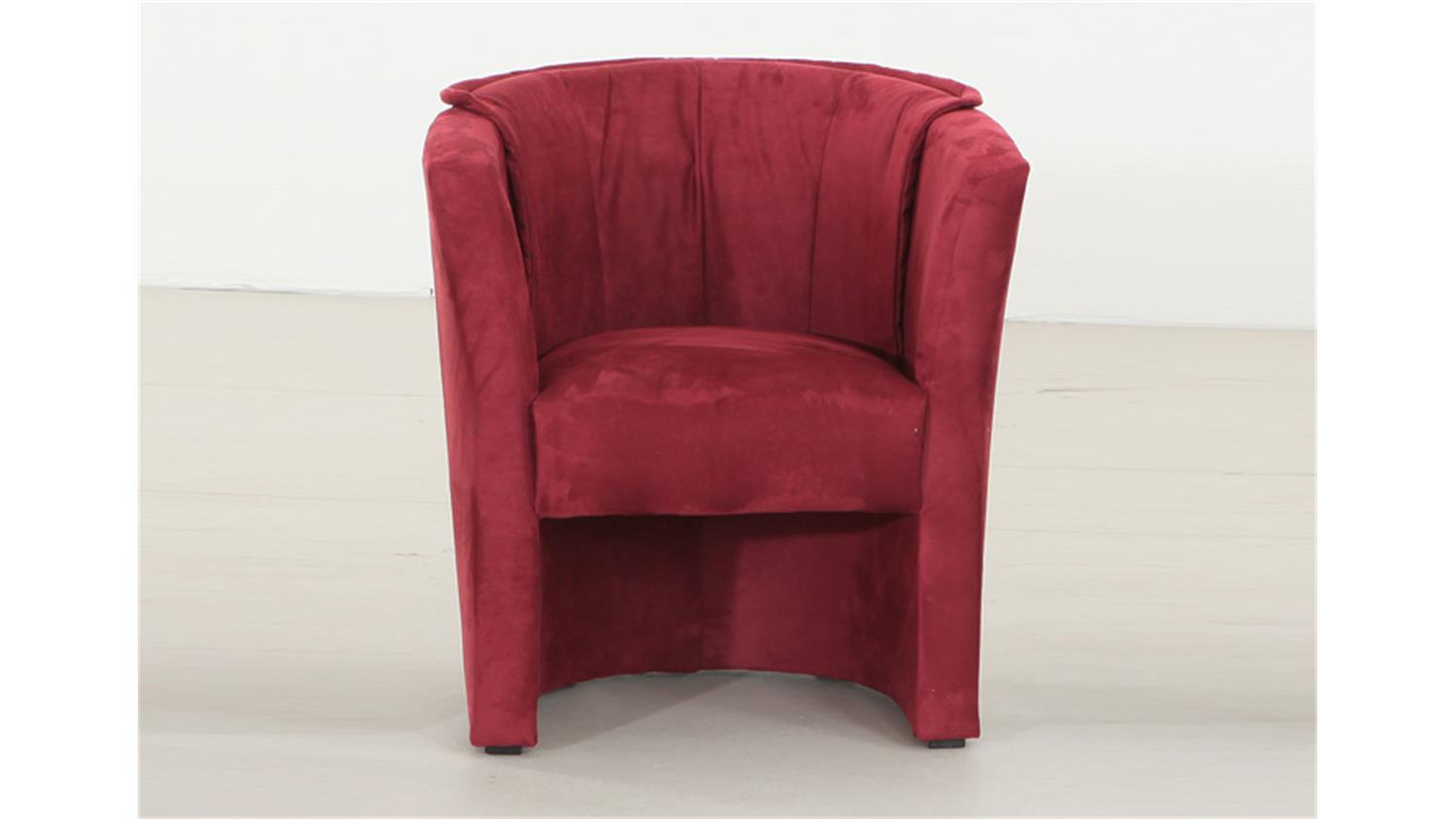 Sessel lux cocktailsessel einzelsessel in rot 75 83 67 for Sessel in rot