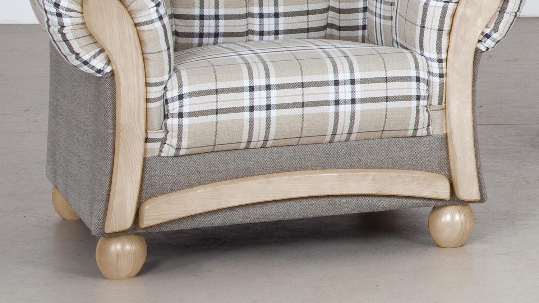 sessel arkus fernsehsessel grau beige eiche sonoma 93 cm. Black Bedroom Furniture Sets. Home Design Ideas