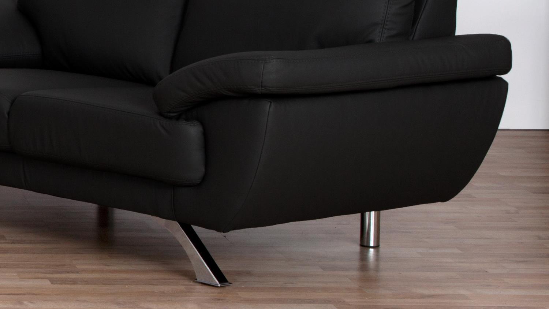 ledersofa 2 sitzer free sitzer sofa kunstleder sitzer. Black Bedroom Furniture Sets. Home Design Ideas