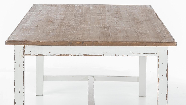 esstisch aimann antik wei shabby chic used look 180x100. Black Bedroom Furniture Sets. Home Design Ideas